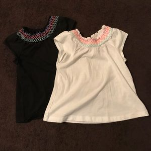 Other - 2 toddler girl shirts.